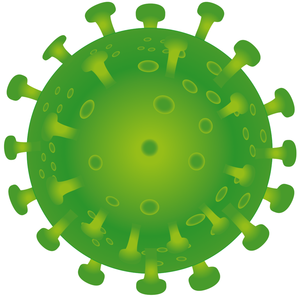 Free image download: Coronavirus, green, cropped, #00001