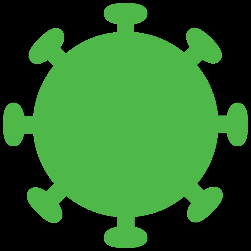 Free image download: Coronavirus, green, cropped, #000028