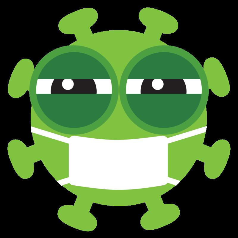 Free image download: Coronavirus, green, eyes closed, cropped, #000032