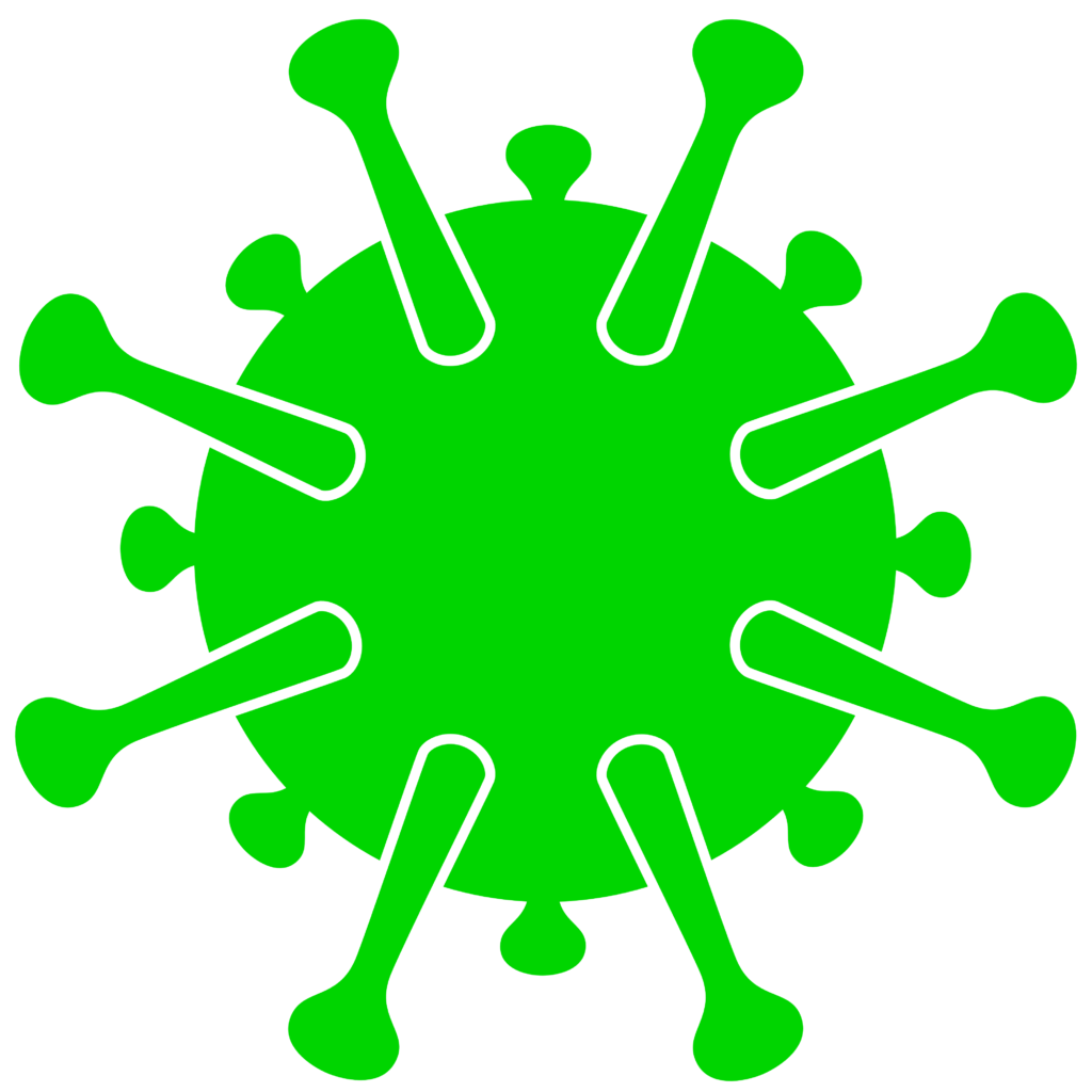 Free image download: Coronavirus, green, cropped, #000036