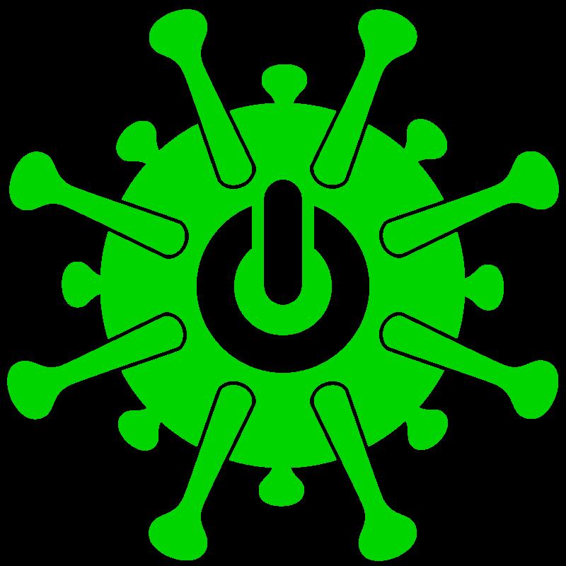 Free image download: Coronavirus, green, shutdown, cropped, #000038