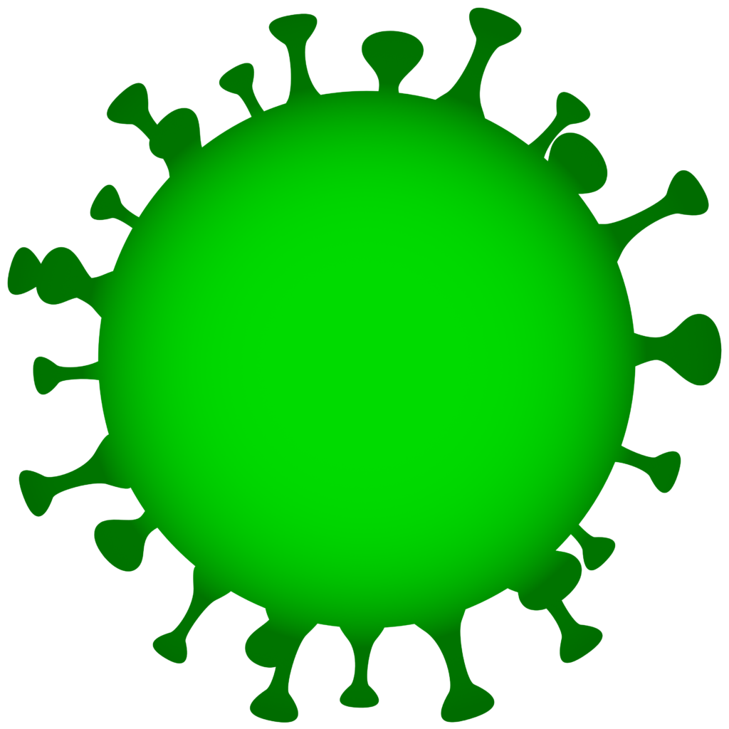 Free image download: Coronavirus, green, cropped, #00004