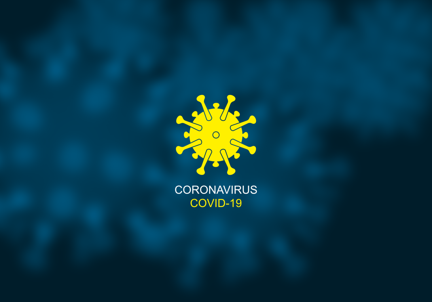 Free image download: Coronavirus, yellow, blue, labeled, covid-19, #000051