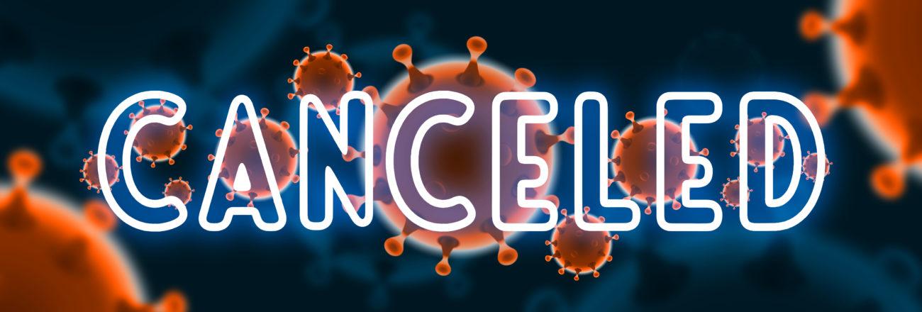 Free image download: Coronavirus, orange, canceled, #000064