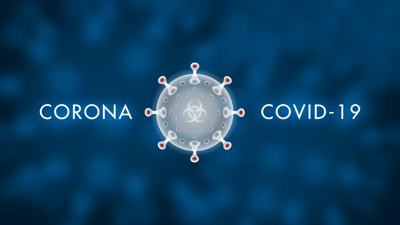 Free image download: Coronavirus, Covid-19, labeled, white, dark blue, #000079