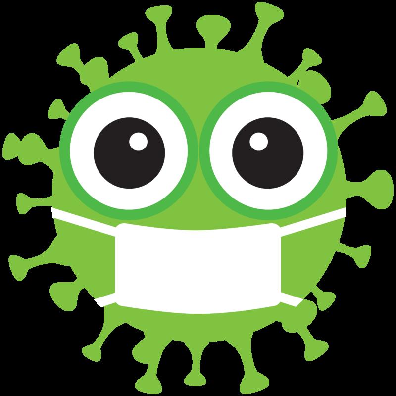 Free image download: Coronavirus, green, mouthguard mask, cropped, #00008