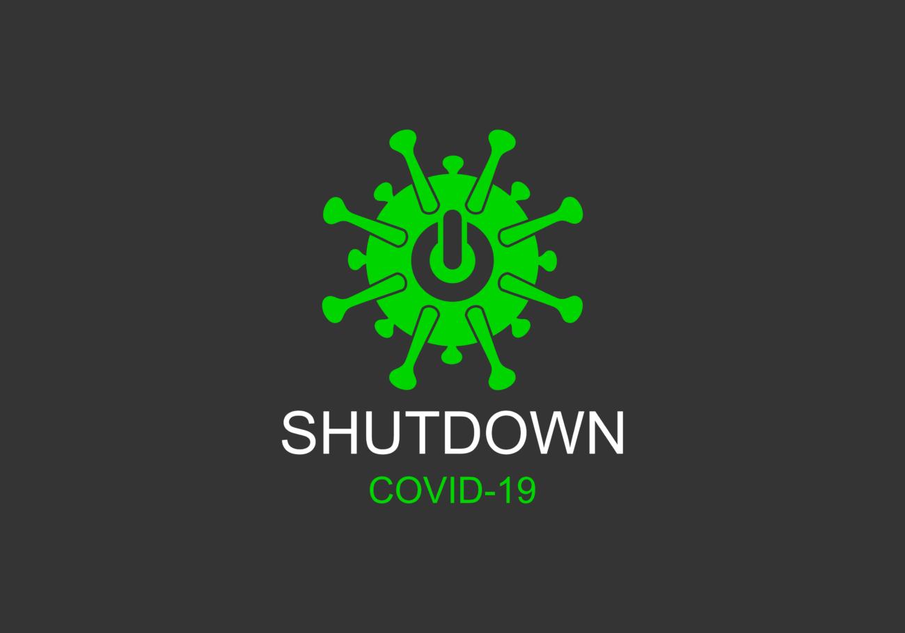 Free image download: Coronavirus, Covid-19, labeled, green, grey, #000082