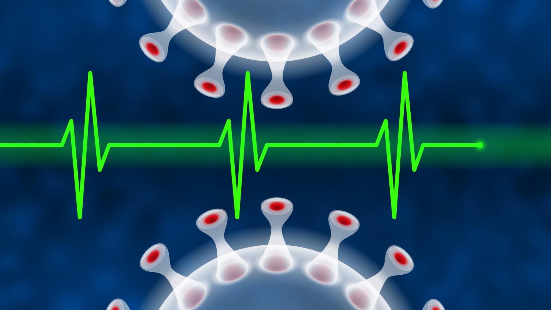 Free image download: Coronavirus, green, Electrocardiogram, ECG, EKG, Health, #000112