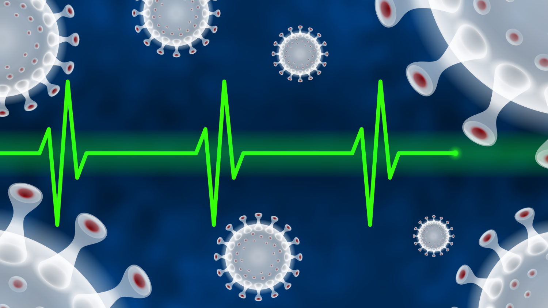 Free image download: Coronavirus, green, Electrocardiogram, ECG, EKG, Health, #000115