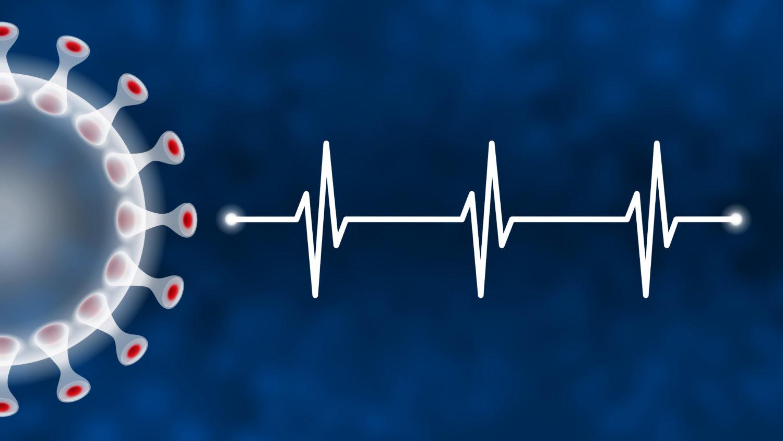 Free image download: Coronavirus, white, blue, Electrocardiogram, ECG, EKG, Health, #000116