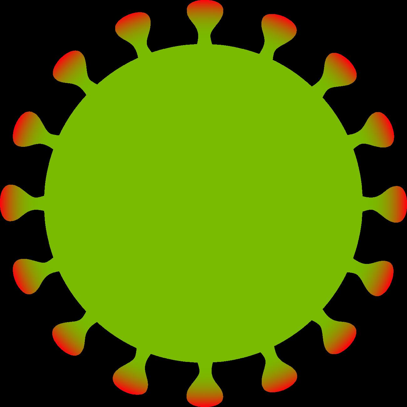 Free image from iXimus.de: Coronavirus, green, red, cropped, #0000131