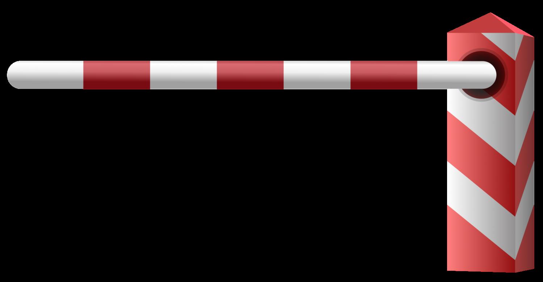 Gratis Download von iXimus.de: Schranke, rechts, Schlagbaum, Grenzübergang, Grenze, Grenzschließung, Vektor-Datei, #000205