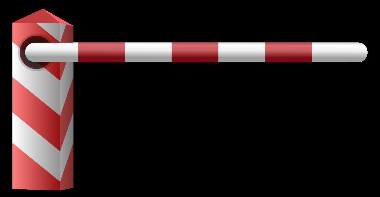 Gratis Download von iXimus.de: Schranke, links, Schlagbaum, Grenzübergang, Grenze, Grenzschließung, Vektor-Datei, #000206