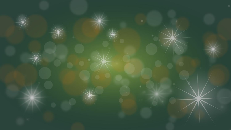 Gratis Download von iXimus.de: Weihnachten, Hintergrundbild, grün, gold, Sterne, Glitzer, #000225