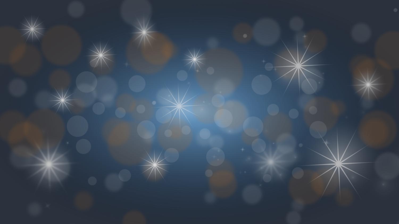 Gratis Download von iXimus.de: Weihnachten, Hintergrundbild, blau, gold, Sterne, Glitzer, #000226