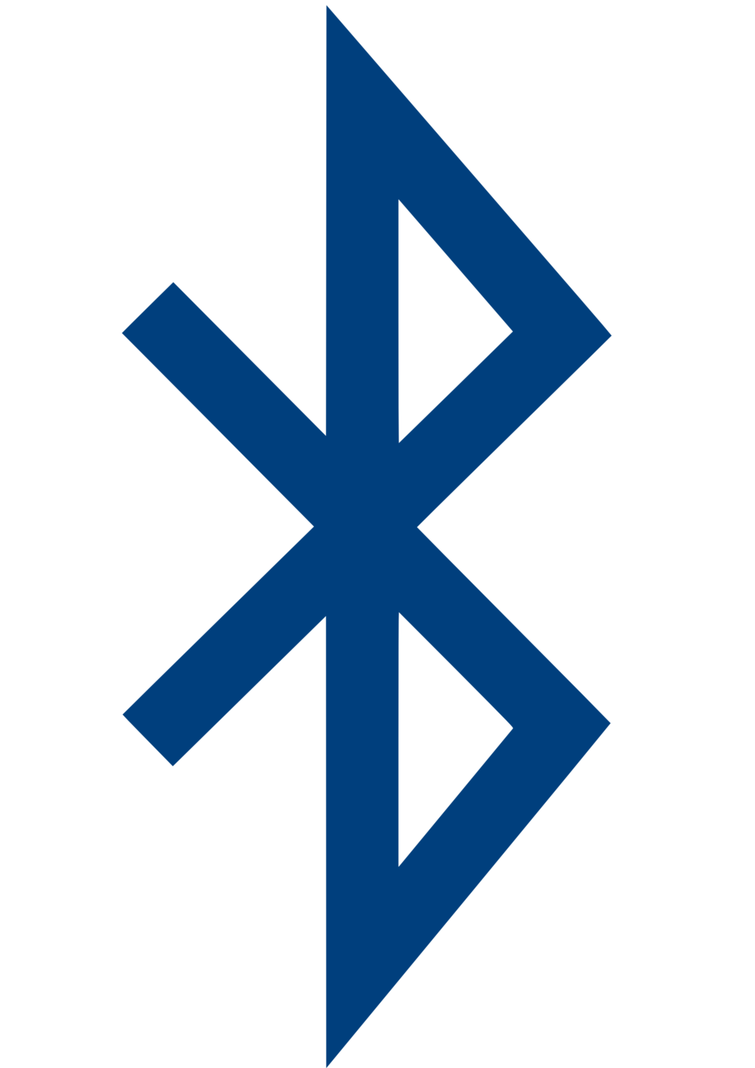 Gratis Download von iXimus.de: Bluetooth-Symbol, Bluetooth-Logo, Bluetooth, Logo, Icon, Blau, #000232