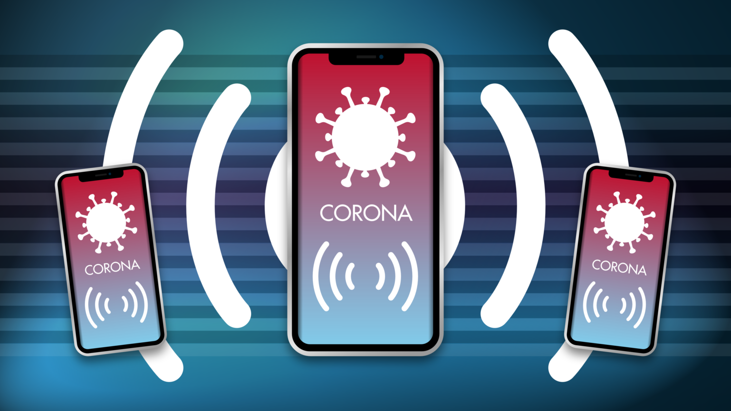 Gratis Download von iXimus.de: Smartphone, iPhone, Corona-App, Corona-Warn-App, iOS, Adroid, Deutschland, Covid-19, Corona, Application, transparenter Hintergrund, #000246