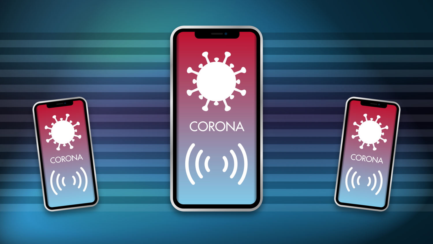 Gratis Download von iXimus.de: Smartphone, iPhone, Corona-App, Corona-Warn-App, iOS, Adroid, Deutschland, Covid-19, Corona, Application, transparenter Hintergrund, #000247
