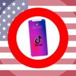 Gratis Download von iXimus.de: Symbolbild Verbot TikTok App, USA, Smartphone weiß, iPhone, weiß, #000291-8