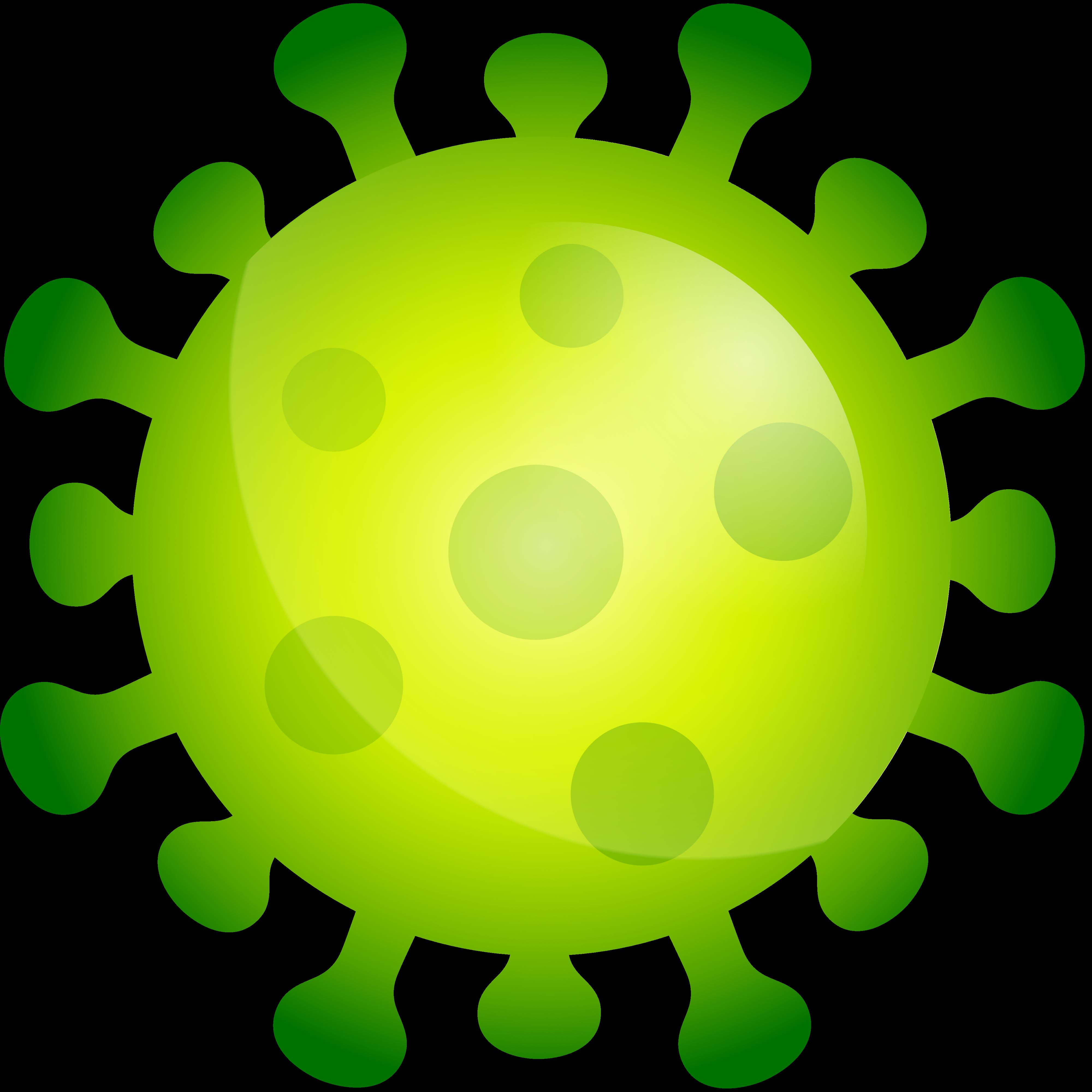 Gratis Download von iXimus.de: Corona-Virus, Icon, 3D, grün, Symbolbild, freigestellt, #000314