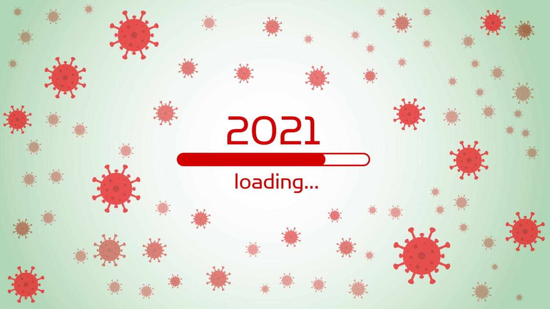 Download von iXimus.de: Ladebalken Grafik Jahreswechsel, 2021, Corona-Virus, COVID-19, glückliches neues Jahr, Grüße, Silvester, Neujahr, #000408