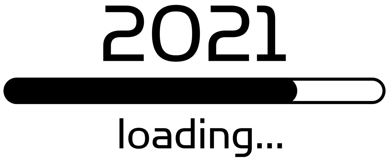 Download von iXimus.de: Ladebalken Grafik Jahreswechsel, Loading 2021, glückliches neues Jahr, Grüße, Silvester, Neujahr, #000410