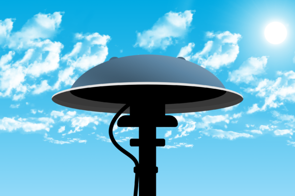 Download von iXimus.de: Symbolbild Sirene, Himmel, Wolken, Alarm, Warnung, Warntag, #000431