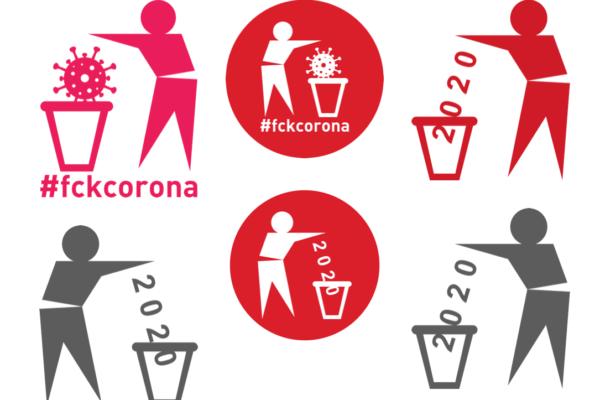 Grafiken kostenlos herunterladen #fckcorona